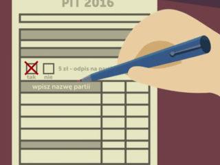 Odpis podatkowy - Kierunek Zmiana